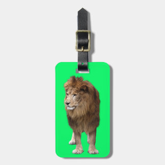 Lion of male bag tag