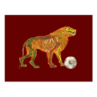 Lion of the Cameroons 2010 flag gifts Postcard