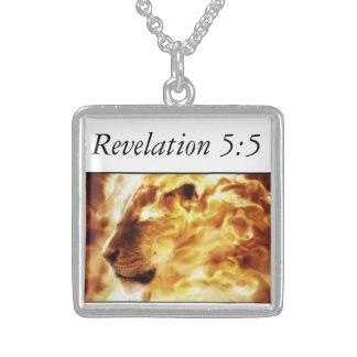 Lion of the tribe of Judah Sterling Silver Necklace
