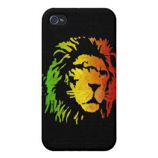 Lion of Zion Judah Reggae Lion iPhone 4 Case