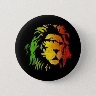 Lion of Zion Judah Reggae Lion Pinback Button