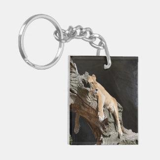Lion Office Home Personalize Destiny Destiny'S Keychain