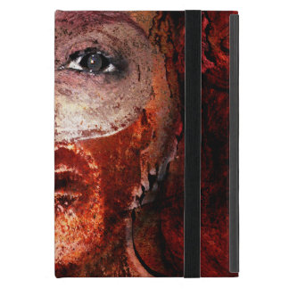 lion on fire iPad mini case