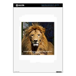 Lion or Sheep? iPad 3 Decals