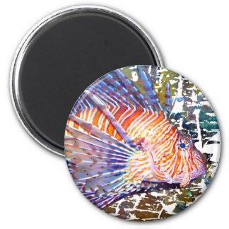 Lion or Turkey Fish Magnets