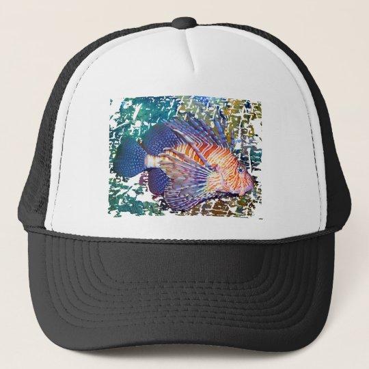 Lion or Turkey Fish Trucker Hat