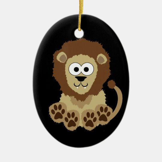 Lion Ornament (double sided)
