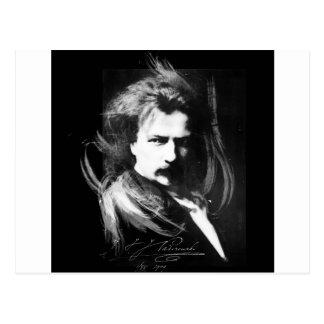Lion Paderewski Postcard
