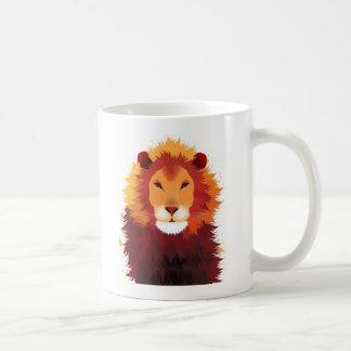 Lion Painting Coffee Mug