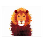 Lion Painting Post Cards
