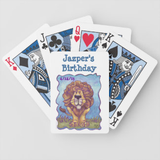 Lion Party Center Bicycle Playing Cards