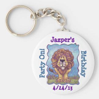 Lion Party Center Key Chains
