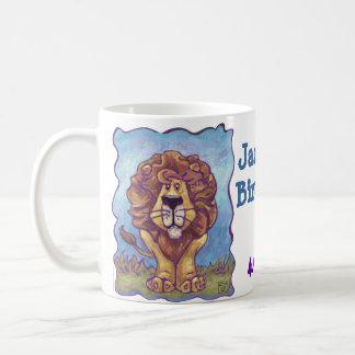 Lion Party Center Classic White Coffee Mug