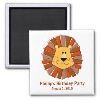 Lion Party Favor Magnets
