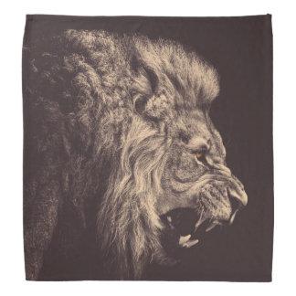 lion pencil art lion roar black and white bandana