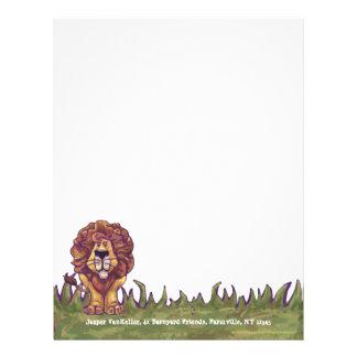 Lion Personal Letterhead