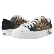 Lion Photo animal  Serious Strength Manly Shoes