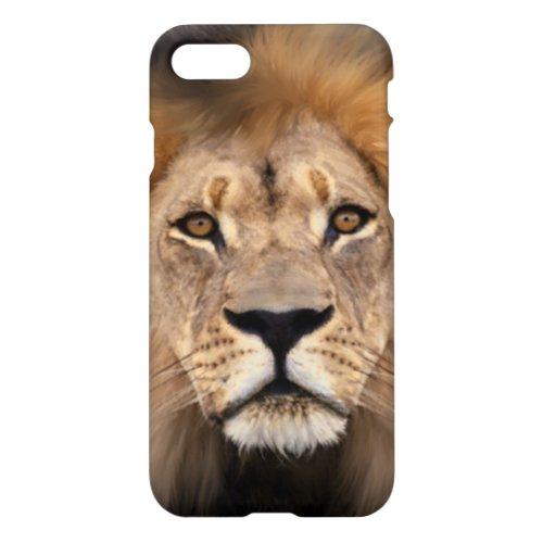 Lion Photograph Phone Case