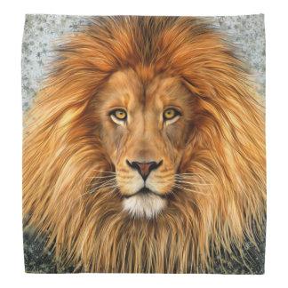 Lion Photograph Paint Art image Bandana