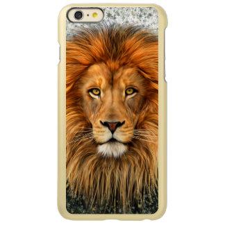 Lion Photograph Paint Art image Incipio Feather Shine iPhone 6 Plus Case