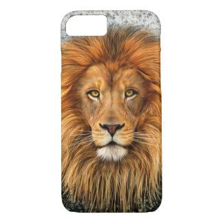 Lion Photograph Paint Art image iPhone 8/7 Case