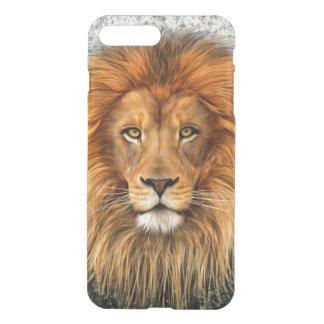 Lion Photograph Paint Art image iPhone 8 Plus/7 Plus Case