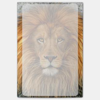 Lion Photograph Paint Art image Post-it Notes