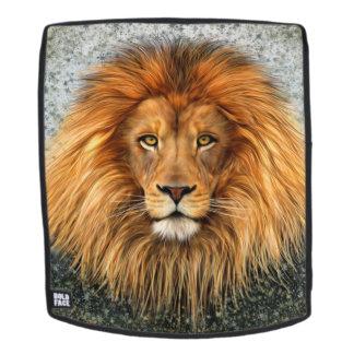 Lion Photograph Paint Backpack