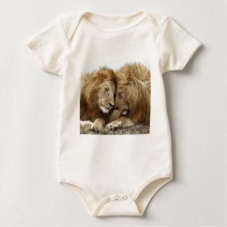 lion pic baby bodysuit