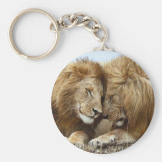 lion pic keychain