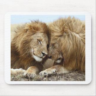 lion pic mouse pad