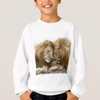 lion pic sweatshirt