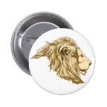 Lion Pinback Buttons