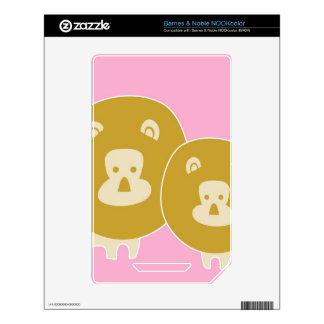 Lion - Pink Skin For NOOK Color