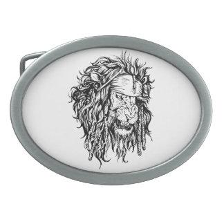 Lion-pirate Belt Buckle