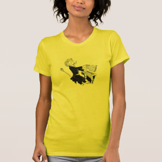 Lion Playing Piano Antique Louis Wain Drawing Tees