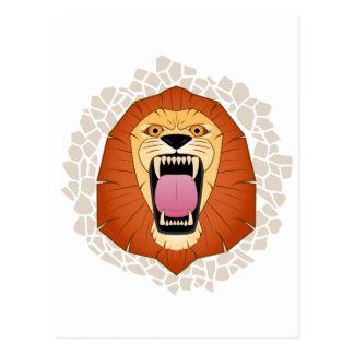 Lion.png Postcard