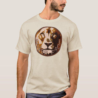 Lion Pokerface Logo T-Shirt