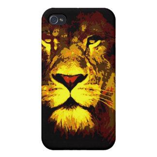 Lion Pop Art Case For iPhone 4