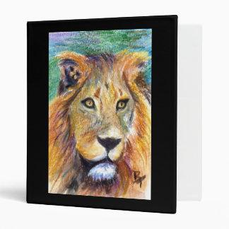 Lion Portrait aceo Binder