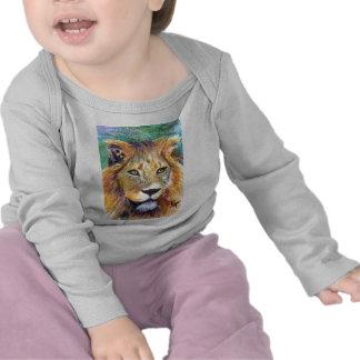 Lion Portrait ACEO Infant Apparel Tee Shirts