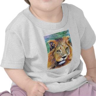 Lion Portrait ACEO Infant Tshirt