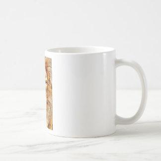 Lion Portrait Coffee Mug