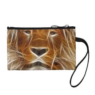 Lion Portrait Coin Wallet