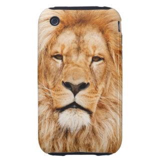 Lion Portrait Tough iPhone 3 Case