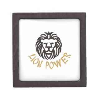 Lion Power Keepsake Box