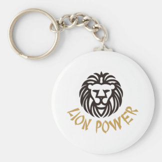 Lion Power Keychain