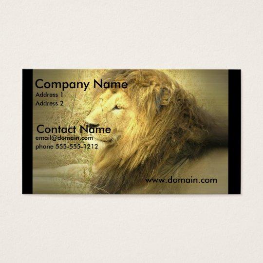 Lion Pride Business Card