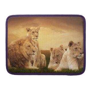 Lion pride MacBook pro sleeve