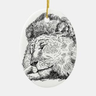 Lion Products.jpg Ceramic Ornament
